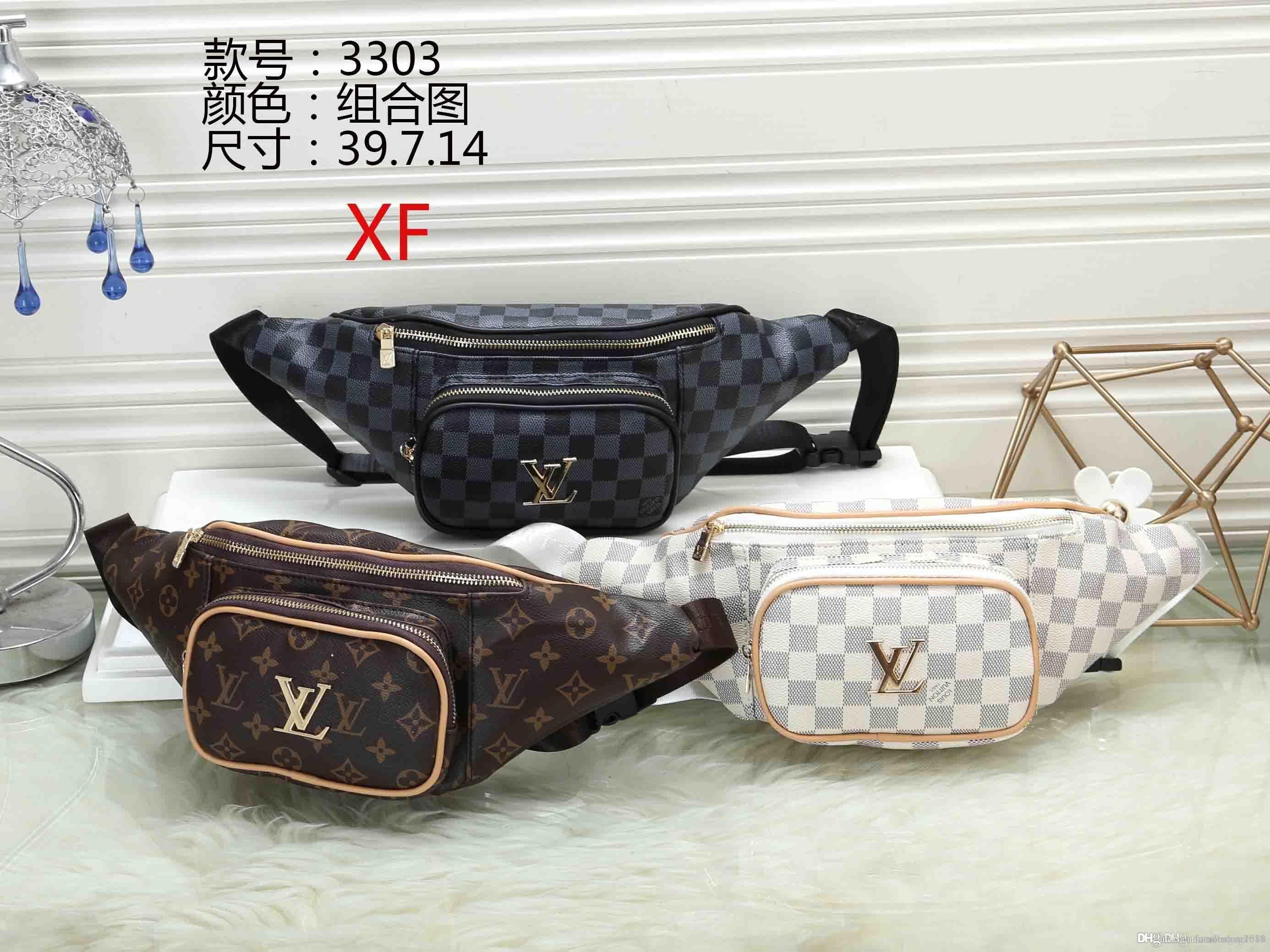 2019 styles Handbag Famous Name Fashion Leather Handbags Women Tote Shoulder Bags Lady Leather Handbags M Bags purse wallet purse 3303