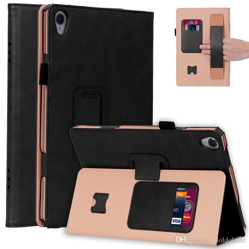 Роскошный чехол для планшета Flip Book для Huawei Mediapad M6 10.8 2019 / M6 Pro 10.8 VRD-AL09 Планшет с слотами для карт наручных ремешка