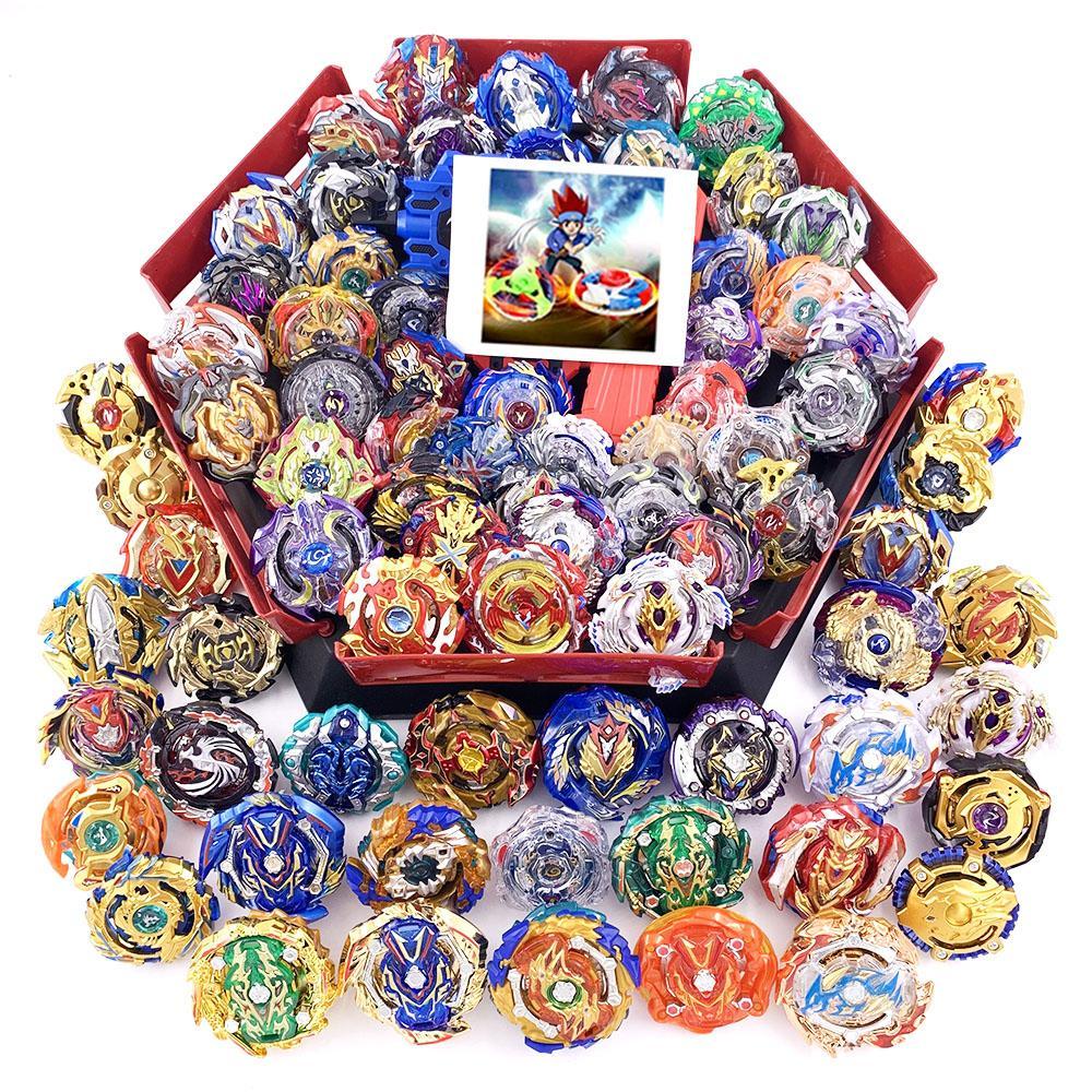 Todos los Tops lámina láminas Conjunto Lanzadores Beyblade GT Dios Bey ráfaga de alto rendimiento top de lucha juguetes para los niños Bables BaybladeMX190926