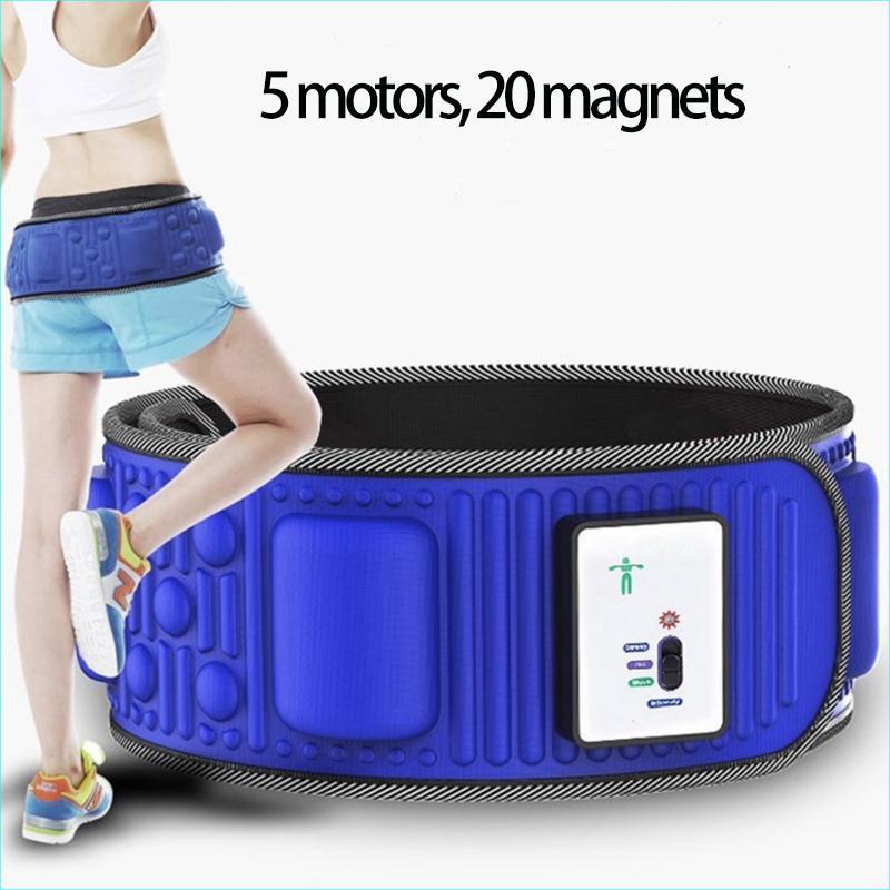 Health Care lazy slimming belt vibration massage thin waist belt abdominal machine weight loss fitness shake