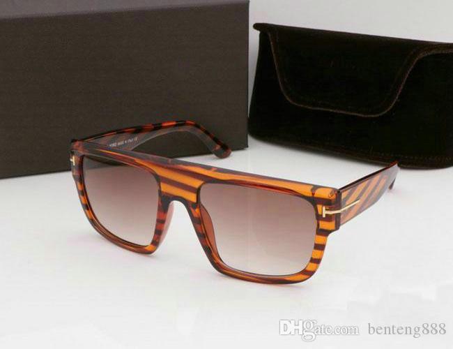 nouveau qualtiy New Fashion top 0699 lunettes de soleil Tom Ford Homme Femme Erika Lunettes Designer Marque Lunettes de soleil avec grande boîte # 578