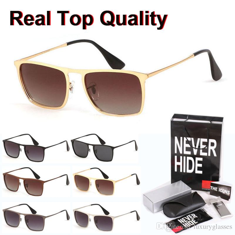 Alta calidad gafas de sol polarizadas de los hombres de las mujeres del diseño de marca retro Gafas Gafas de sol con la caja original, paquetes, accesorios, todo!