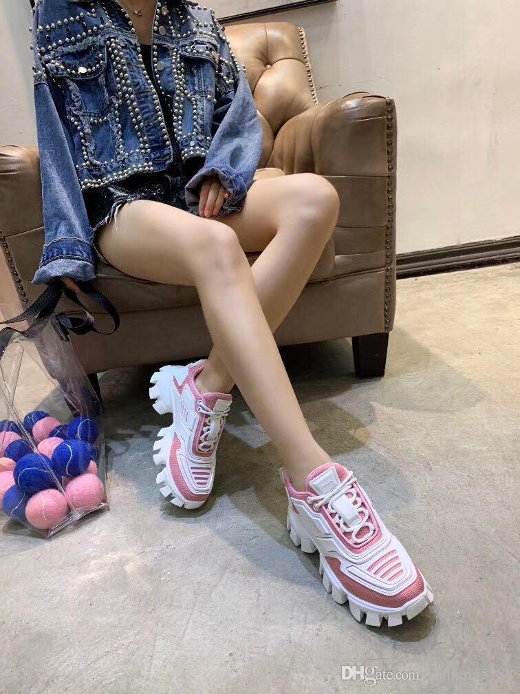 2019 Nouveau Triple S Designer Papa Chaussures Mode Baskets Podium Triple-S Zapatos Fluo Hommes Femmes Casual Chaussures Sport Trainers 35-46