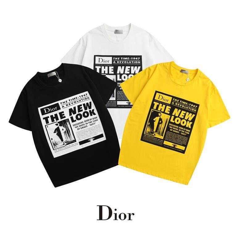 뜨거운 판매 여성 편지 인쇄 티 여름 코 튼 짧은 t- 셔츠 탑 셔츠 셔츠 높은 품질 브랜드 남자 화이트 캐주얼 Tshirt 여성 의류