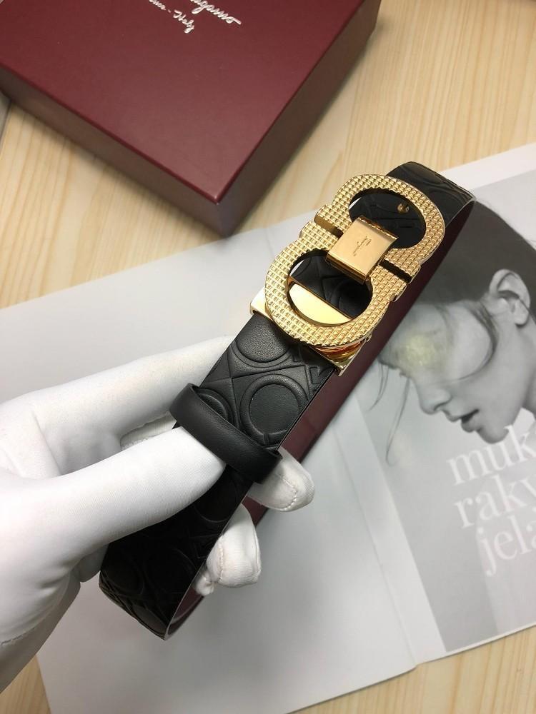 nuevo concepto be832 cc800 Compre Cinturones De Caballero Clásicos Clásicos Europeos Y Casuales, Con  Hebilla Lisa Para Hombre, De Diseño. A $66.15 Del Mogge | DHgate.Com