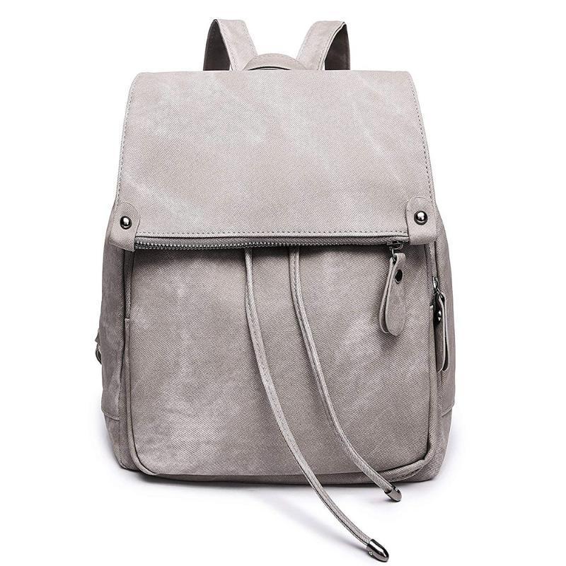 Mini Sac à dos en cuir Femmes Mode mignon Sac à dos Petit sac à main