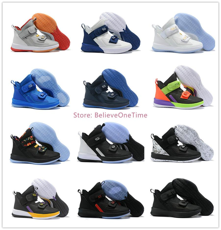 Lebron Soldier 13 Mens Basketball Shoes