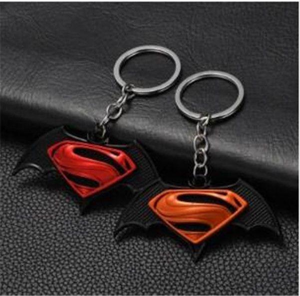 19-style Avengers Captain America Keychain Superhero Star Shield Pendant Keyring Car Key Chain Accessories Batman Marvel Key Chain 10 jssl01
