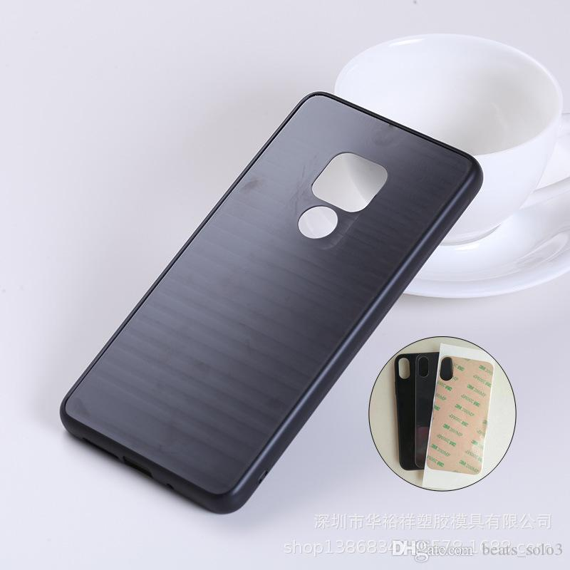 2019 hot sale Huawei Mate20 mobile phone case two-in-one TPU+PC glass paste material suitable for Mat20pro factory direct sales