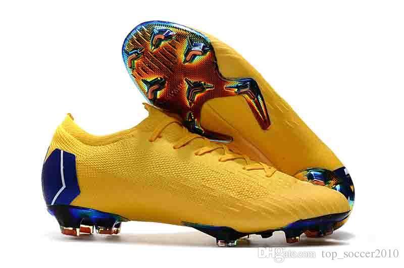 2018 하이 탑 Mercurial Superfly SuperflyX 6 VI Mercurial Frenzy XII 엘리트 축구화 CR7 Cristiano Ronaldo Football Boots Cleats