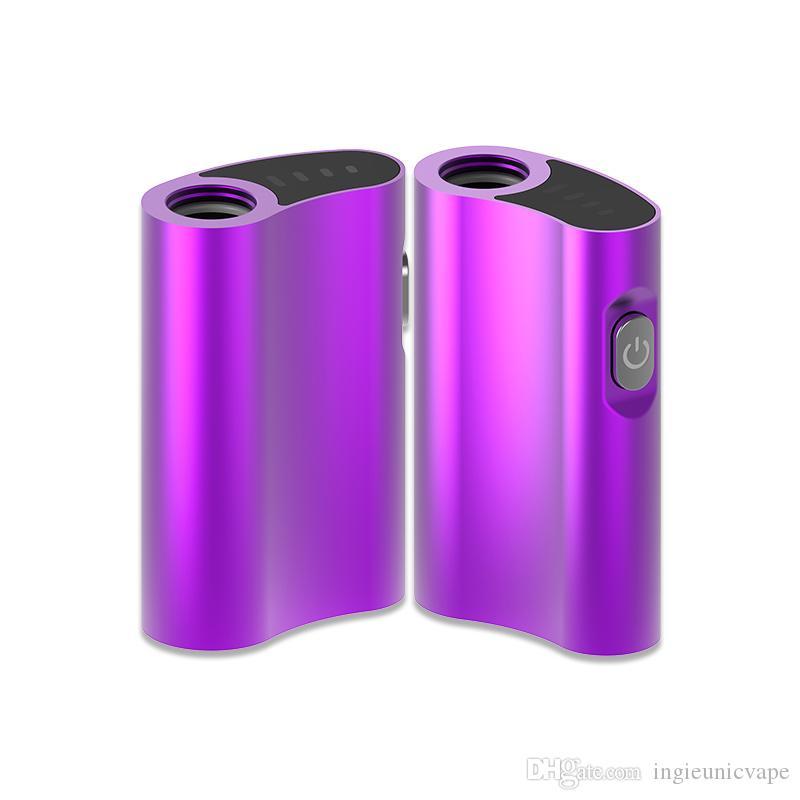 Logotipo personalizado 510 Aceite Cartucho de Vape dispositivo 500 mAh VV Vape batería con cargador de baterías Micro USB Diseño de la palma Cámara Vape