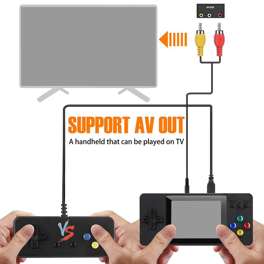 K5 K8 SUP PXP3 PVP PAP GB NES TV Video Game Console Mini Portable Handheld Game Box Pocketgo 500-in-1 Arcade Play Handheld Game Players