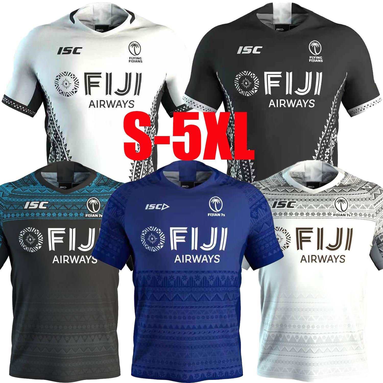 2020 фиджи дома вдали регби Джерси Национальной лиги регби рубашки Fiji 7S Джерси регби Обучения втор-5XL бесплатной доставки