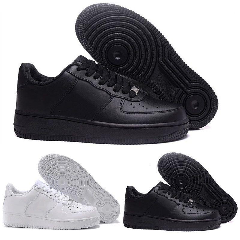 air force 1 negro y blanco