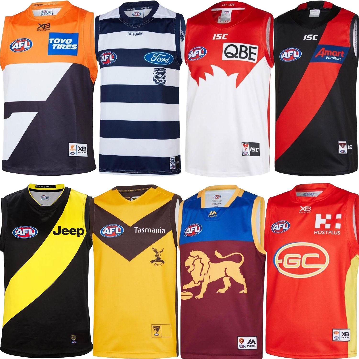 2020 2019 2020 All Afl Jersey Gws Giants Geelong Cats Essendon Bombers Adelaide Crows Collingwood Guernsey 19 20 Rugby Jerseys League Singlet From Soccer Quality 17 36 Dhgate Com