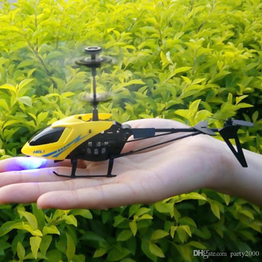 Мини Дрон RC 901 2CH Вертолетное радио Дистанционное управление Самолет Микро 2 канал RC Вертолетные игрушки для детей