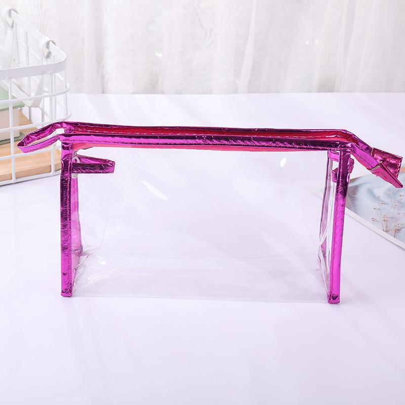 Bolsa de regalo cosmética de almacenamiento portátil Bolsa de lavado Transparente PVC Regalo Set DFKXJ