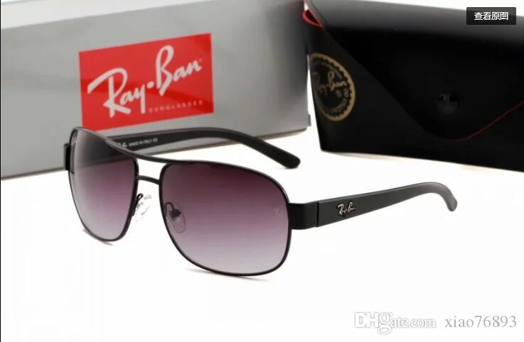 c4810fd73f ... Alta calidad gafas de sol de piloto clásico diseñador de la marca para  mujer para mujer