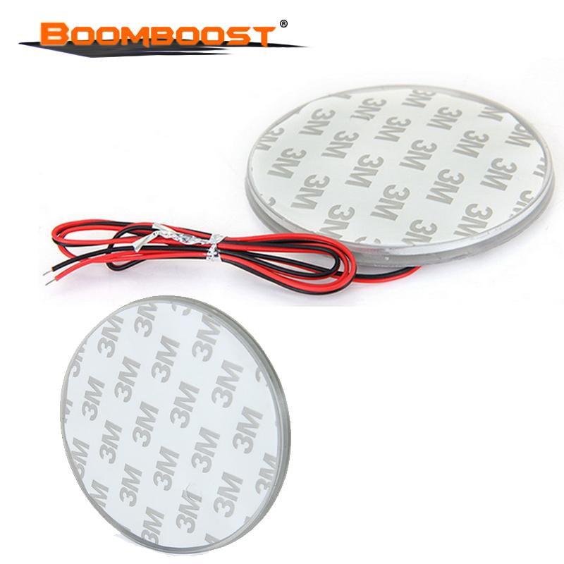 Fit for 3 5 7 Series X3 X5 X6 Z4 Background Badge Emblem LED Light Lamp Sticker 3 Colors DC 12V 82mm Waterproof