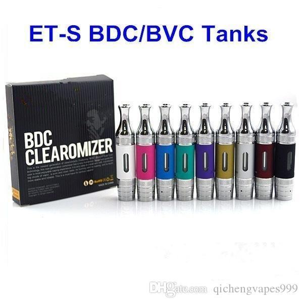 소매 ETS BDC BVC 분무기 교체 가능한 코일 T3s 탱크 Clearomizer 비전 2 Evod Twist II 배터리 Vape Pen Mod Vaporizer Kit