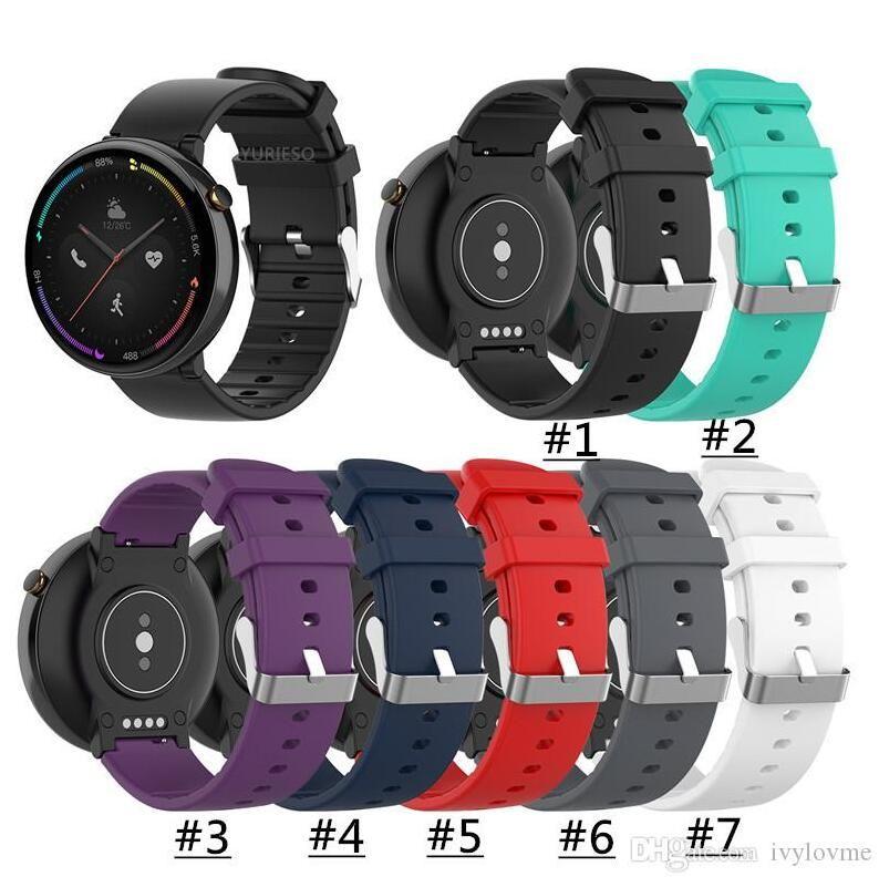 Intelligente della fascia del braccialetto per Xiaomi Huami Amazfit 2 cinghia del silicone cinturino per Huami Amazfit OROLOGIO 2 A1807 cinturini