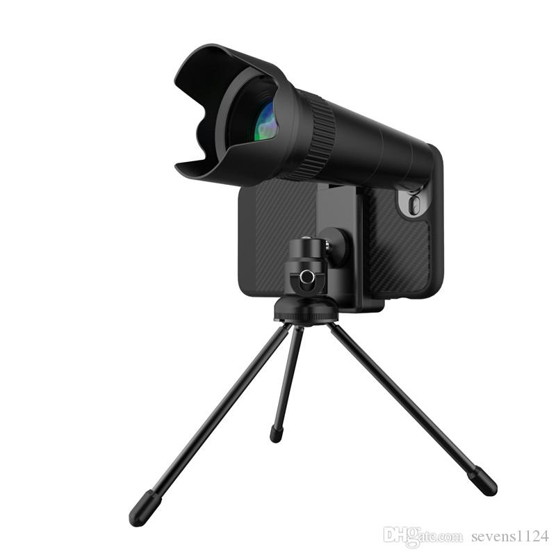 S-Mart Telescope Camera Lens 20X Mobile Phone Telescope Tripod Optical Zoom No Dark Corners for iPhone 9 X Samsung with Retail Package