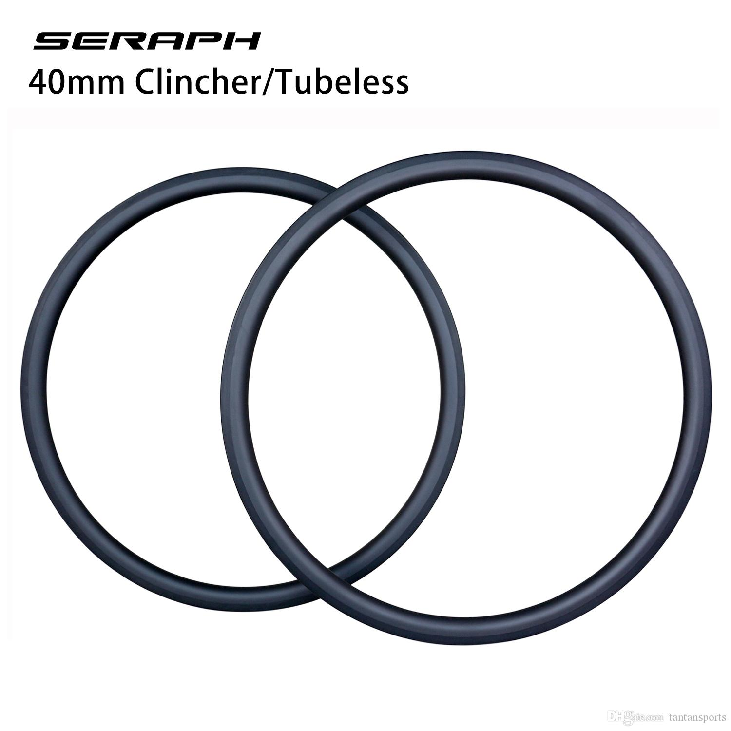 Aero carbon wheels , wheelset 40mm clincher carbon rims ,bicycle rims , 20-24 holes in stock,