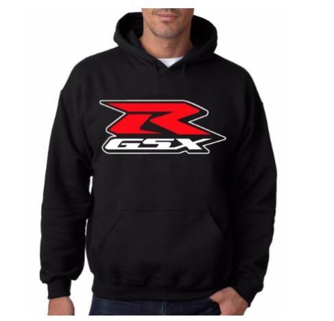 لGSXR السوداء HOODIE GSXR مقنع البلوز دراجات رياضية GSX الدراجات النارية و الدراجات النارية بلوزات هوديي