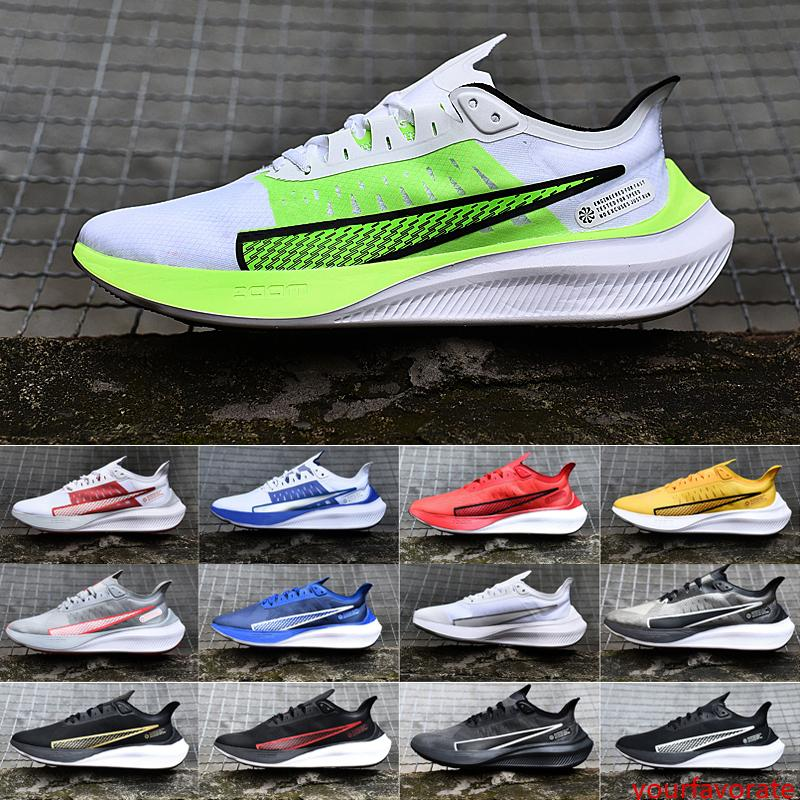 Nuevas llegadas para hombre Zoom Pegasus 37 zapatillas Pegasus 36 Trail Turbo 2 prm subida Atlético Casual diseñador Zapatos Corredores Entrenadores 40-45