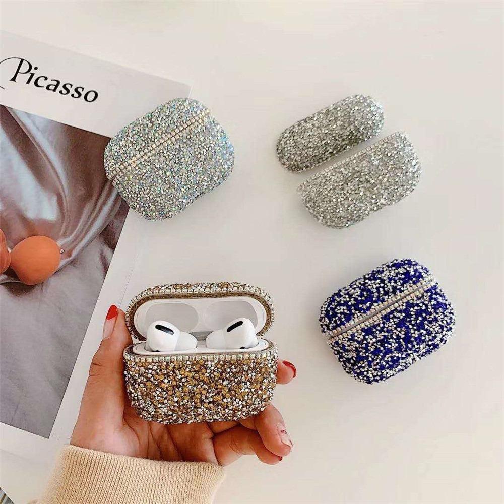 2020 Luxury Bling Glitter Diamond Hard Case For Apple Airpods Pro