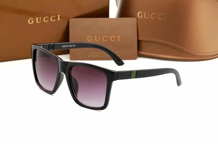 2019 Luxe Desinger Lunettes de soleil carrées avec UV400 Stamp Full Frame Lunettes de soleil pour Femmes Hommes Accessoires de mode de haute qualité 4139