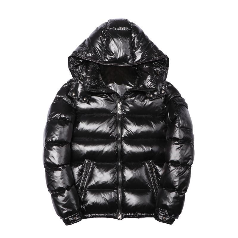 Lüks Kış Ceket Parka Erkekler Kadınlar Klasik Casual Aşağı Palto Erkek Tasarımcı hococal Açık Sıcak Ceket Yüksek Kalite Unisex Coat Dış Giyim
