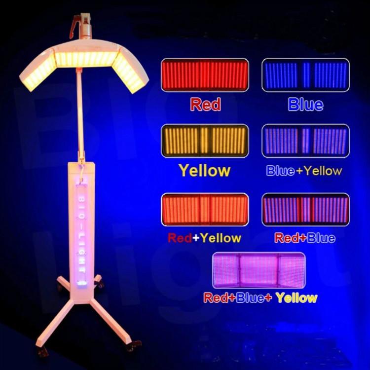 7 Renk Foton PDT LED Işık Terapi LED Yüz Maskesi LED Işık Fotodinamik Tedavi Cilt Gençleştirme Güzellik Makinesi