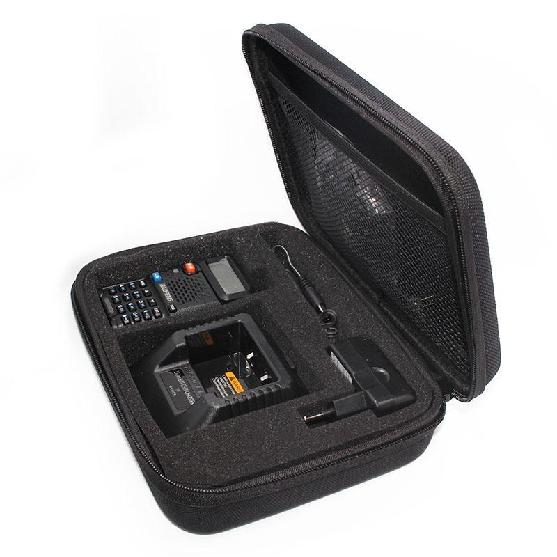 Caso Radio 20pcs bidirezionale per BAOFENG UV-5R / A / B / C / D / E PLUS TYT walkie-talkie Borsa Interphone Lanciato caso di caccia