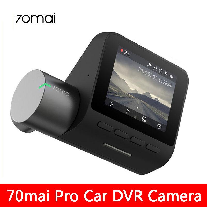 Xiaomi Youpin 70mai Pro Dash Cam Smart Car DVR 1944P precipitare Wifi della macchina fotografica di visione notturna G-sensor 140 grandangolare Auto Video Recorder