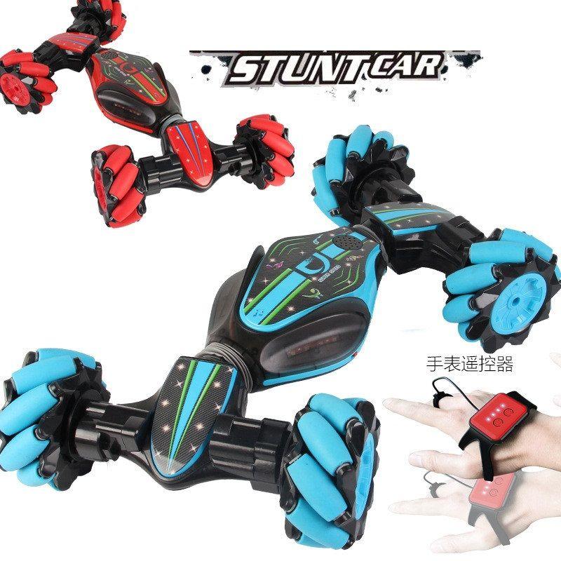 Stunt RC Car Spielzeug Gesture Sensing Twisting Fahrzeug Drift Car Driving-Spielzeug-Geschenk-Fernbedienung Stunt USB RC Car Spielzeug