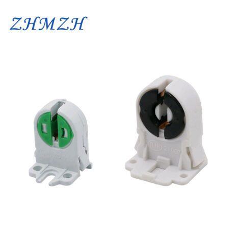 Pacote de 20 Non-desviado T8 suporte da lâmpada soquete Tombstone para substituições de tubo LED fluorescentes Ligue-Type Lamphol