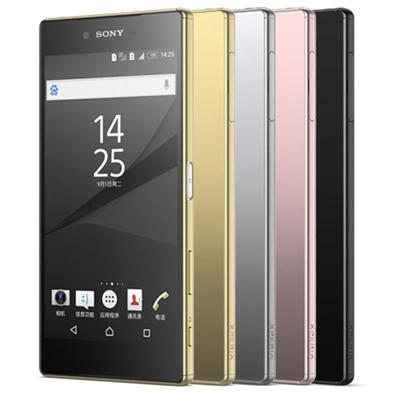Refurbished Original Sony Z5 Premium E6853 E6883 Unlocked 4G LTE 5.5 inch UHD 4K Octa Core 3GB RAM 32GB ROM 23MP Smart Phone DHL 1pcs