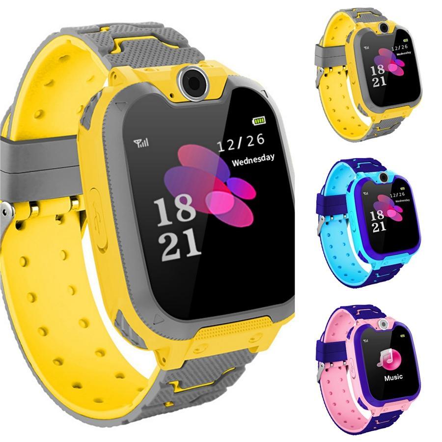 2020 Ünlü Marka Ohsen Dijital Lcd Moda Kol Çocuk Çocuk Rubber Band Doğa Sporları Su geçirmez Karikatür Boys Saatler Horloge G # 66