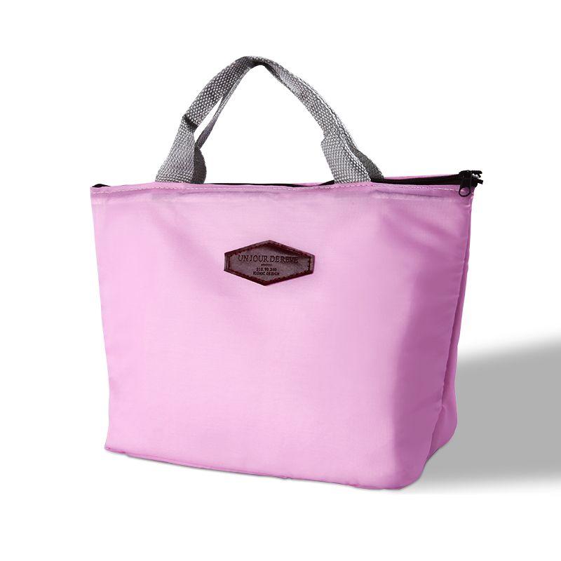 حقيبة الغداء المحمولة للسيدات خارج حقيبة تخزين السفر نزهة حقيبة تبريد سعة كبيرة