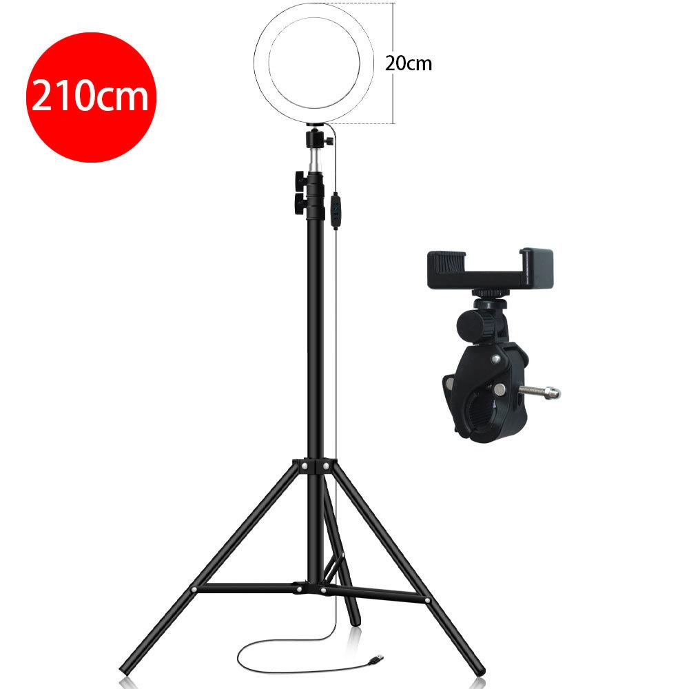 LG Xiaomi and Other Smartphones B Galaxy Cold Shoe Tripod Head for iPhone Huawei HUIFANGBU 3 in 1 Vlogging Live Broadcast LED Selfie Light Smartphone Video Rig Kits with Microphone Google HTC
