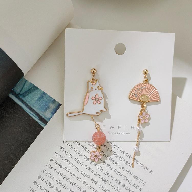 2020 Bijoux mode 925 femmes bijoux design de luxe en argent designer boucles d'oreilles Stud Earings chat Tassel Earings Retour
