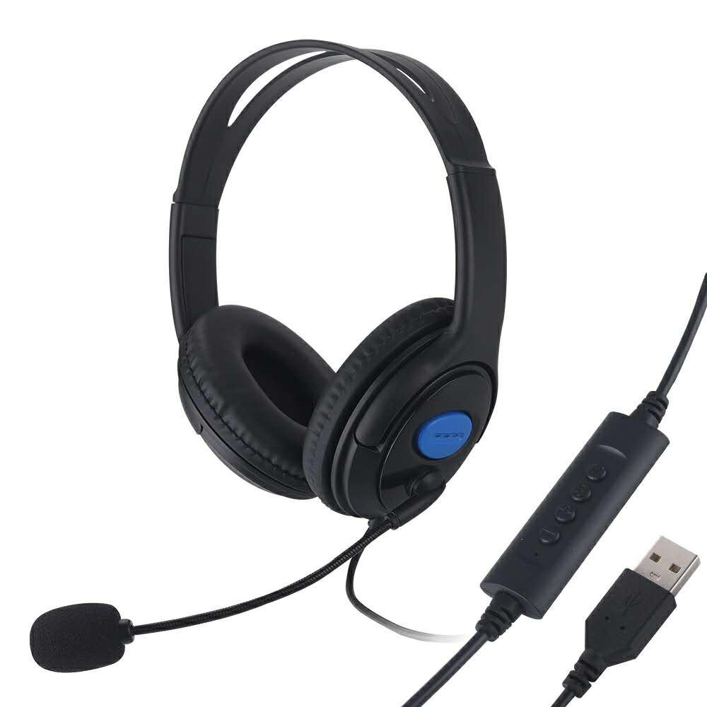 Computer Gaming Headphones Usb Office Headset With Microphone Stereo Adjustable Wired Headphone For Computer Laptop Pc Skype Cell Phone Earphone Cell Phone Headphone From Online360 5 57 Dhgate Com