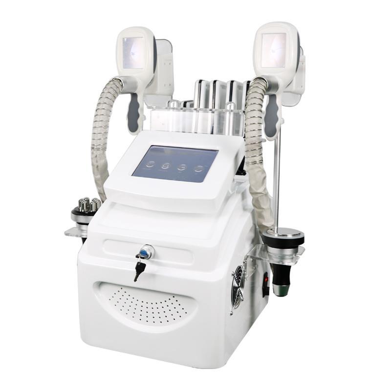 Poderoso 5 em 1 Cryo Lipolaser Freeze Peso Reduza 40K Cavitação Vácuo RF RF Emagrecimento Máquina de Rádio Frequência S Beleza Máquina