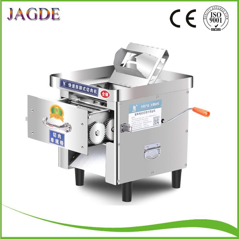 trancheuse électrique commerciale complète coupe-fil automatique trancheuse bureau 850W hachoir à viande machine à couper en dés robot manuel
