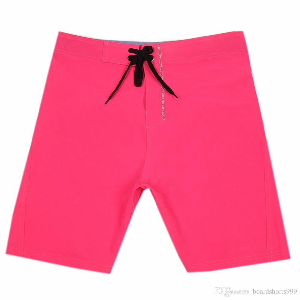 Fashion Spandex Swim Trunks Elastane Mens Leisure Shorts Beachshorts Bermudas Shorts Board Shorts Beach Pants Quick Dry Surf Pants Swimtrunk