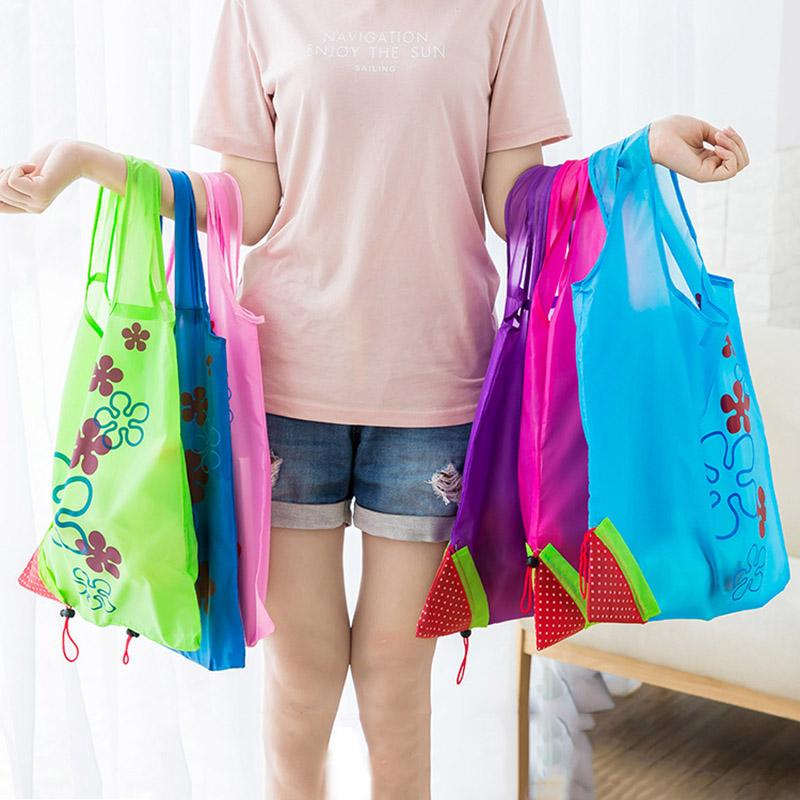 11 Color Home Storage Bag Large Size Reusable Grocery Bag Tote Bag Portable Folding Shopping Bags Convenient Pouch good