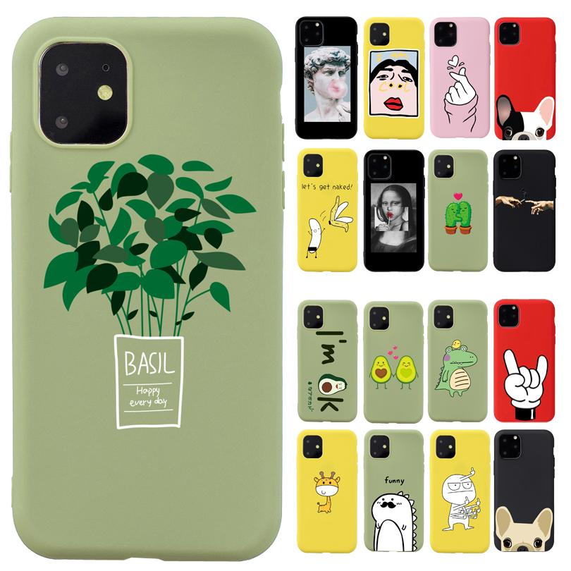 Pretty Fresh Color Phone Case For iPhone X 6 6s 7 8 Plus XR XS Max Soft TPU Cover Capa Fundas Coque For iPhone 11 Pro Case