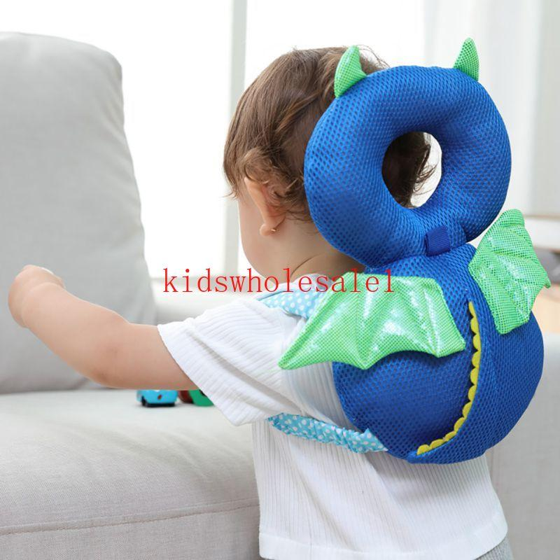 Baby Infant Head Neck Protection Pad Headrest Pillow Drop Resistance Cushion UK