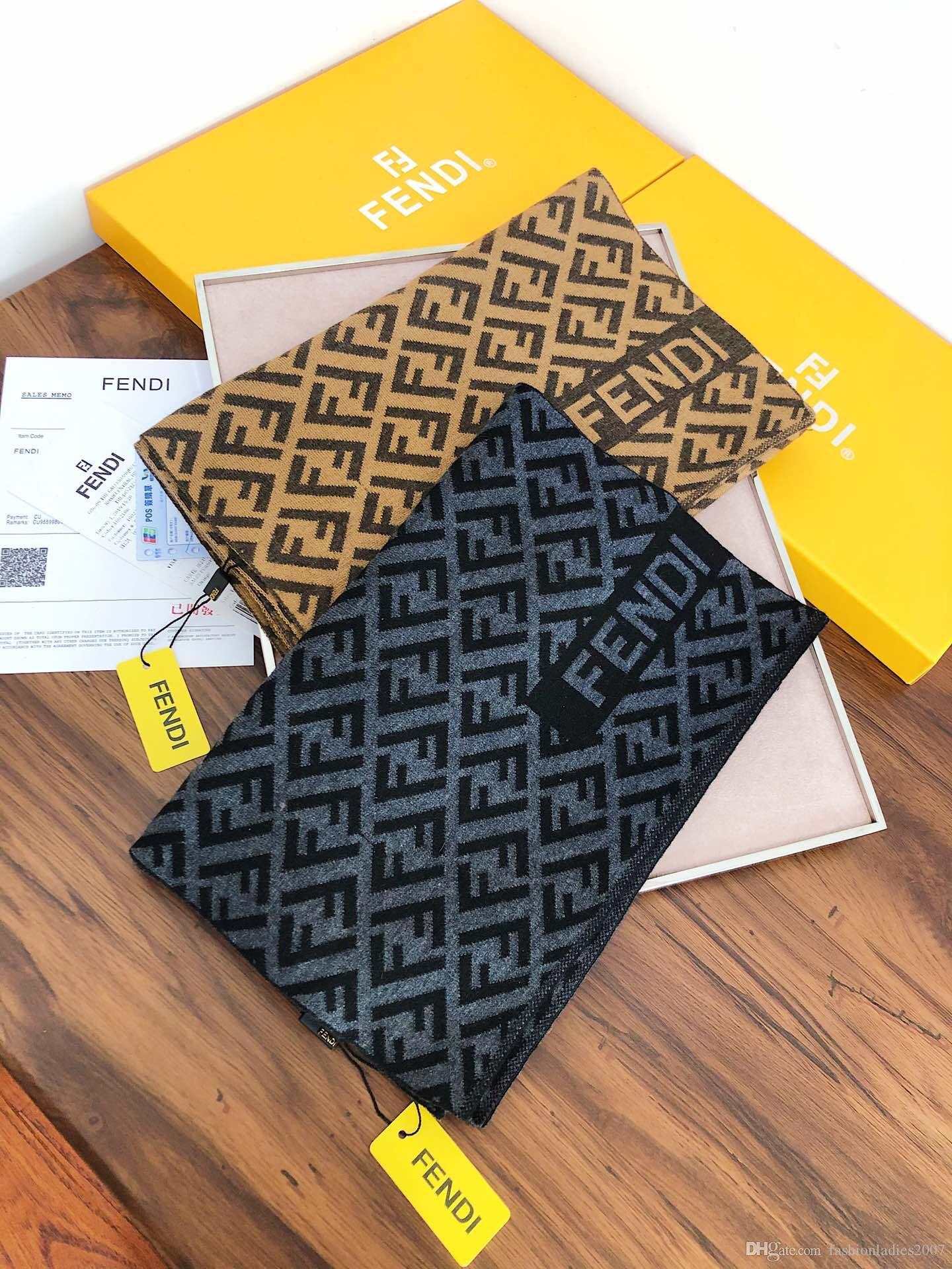 Nuovo Wool scarf scialle di cachemire per gli uomini 2019 NUOVI Mens inverno di marca caldo cashmere Sciarpe Sciarpe Wrap 180X30Cm Scialli S849